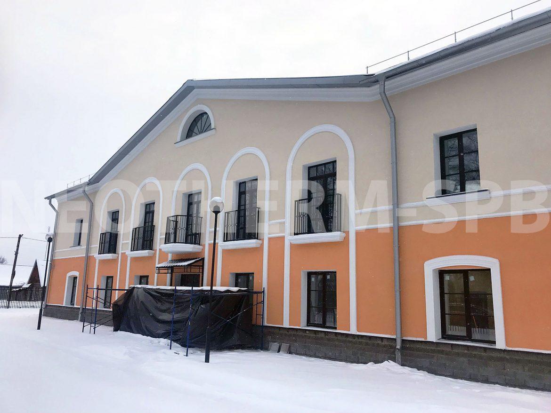 Лепнина для фасада дома