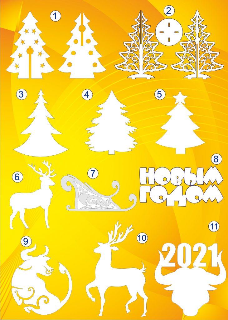 Снежинки из пенопласта к новому году
