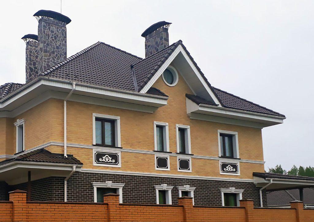 Архитектурные фасадные элементы из пенопласта