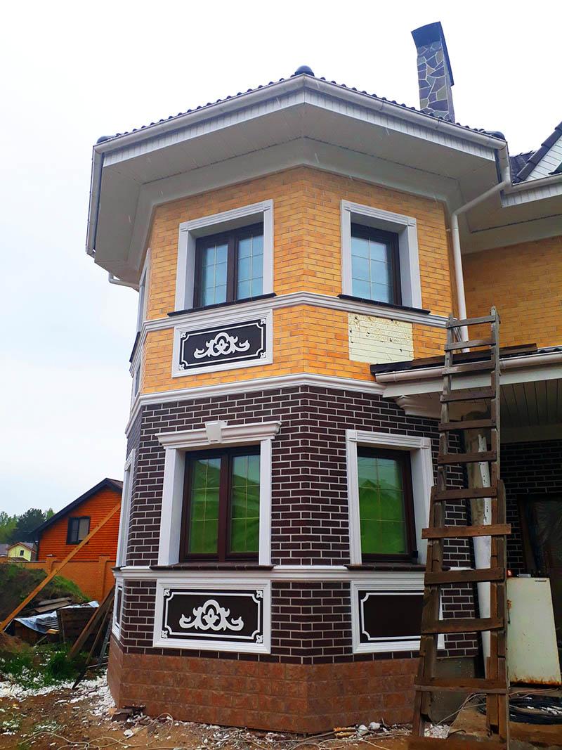 Фасадный декор неотерм